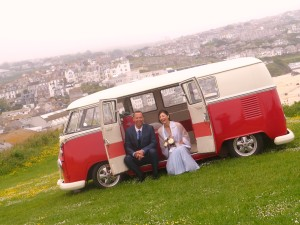 Cornwall VW wedding campers