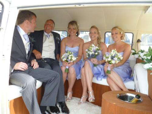Cornwall VW Wedding Hire
