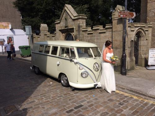 VW wedding car