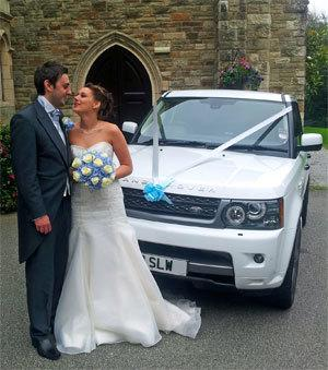 White Land Rover Range Rover for Hire