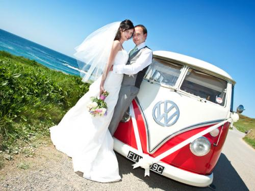 Cornwall Vw Wedding Hire Bridal And Wedding Campers