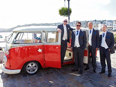 Hire a Volkswagen Camper Van for your Cornwall Wedding