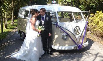 Juliet - Hire a Volkswagen Camper Van for your Wedding