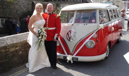 Red VW Wedding CamperVan - Romeo